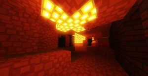 Minecraft Paper Cut Out Nether Update