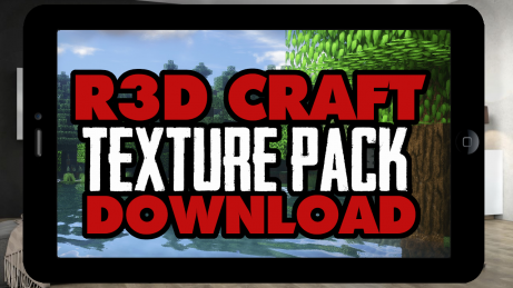MCPE Red Craft realistic texture pack