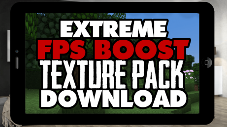 FPS Boost Resource Pack MCPE