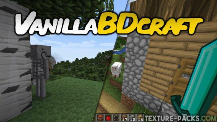 VanillaBDcraft Texture Pack
