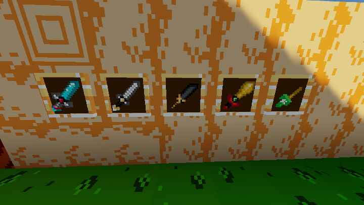 New Swords with 16x16 resolution