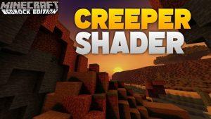 Creeper MCPE Shader for Minecraft PE