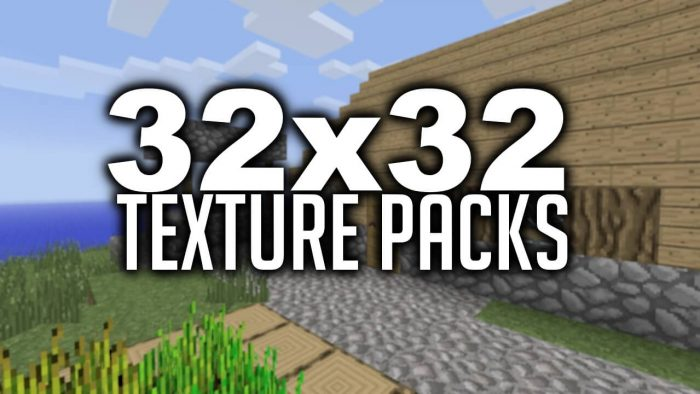32x32 Texture Packs
