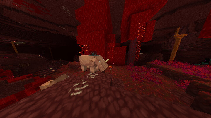 Stevens Traditional 1.16 in new Minecraft Nether Update