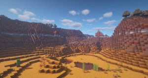 BSL Shaders clouds