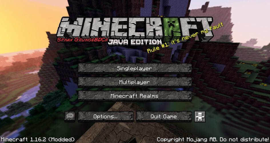 GrungeBDcraft Texture Pack Screenshot
