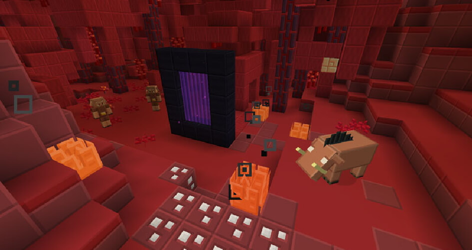 Soft Bits Texture Pack Nether Update