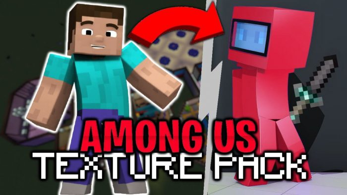 Among Us Texture Pack