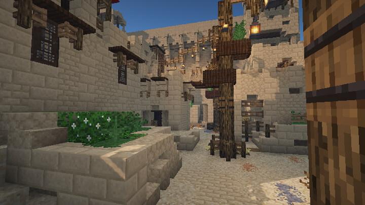 BetterVanillaBuilding Desert Village