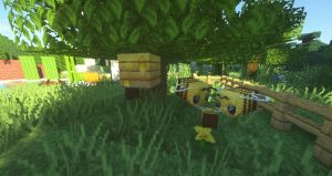 Faithful Texture Pack Buzzy Bees