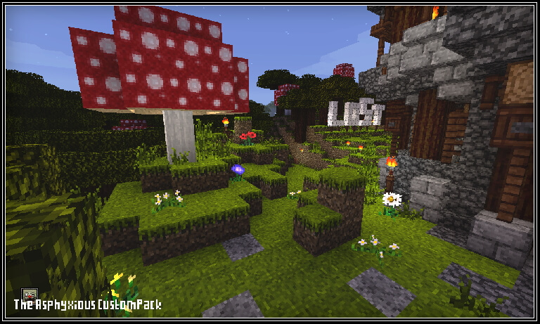 The Asphyxious Texture Pack Blocks