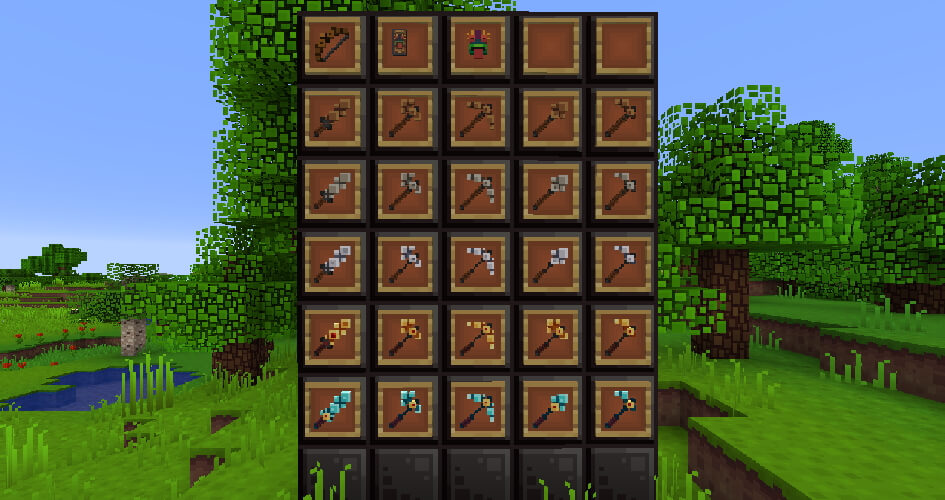 BlockPixel Items