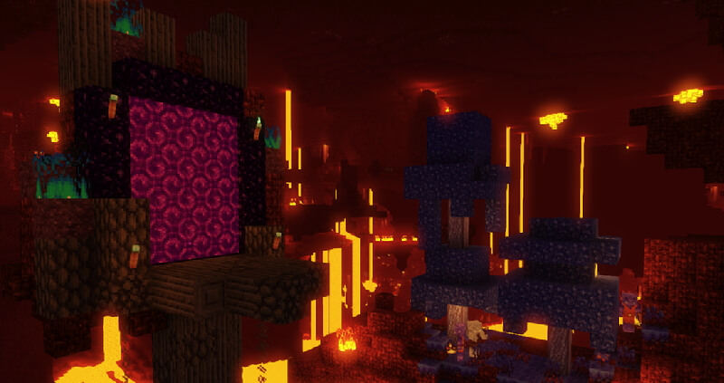 Jehkoba's Fantasy Nether World