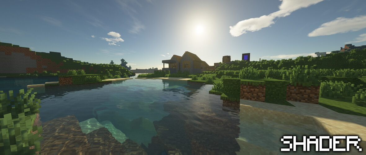 Minecraft 1.16.5 with Shader