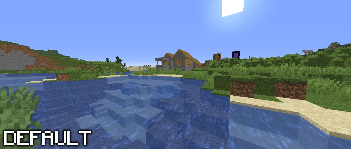 Minecraft 1.16.5 without Shader