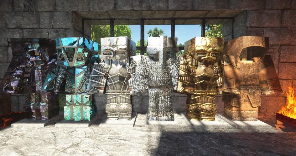 Patrix Texture Pack Armor