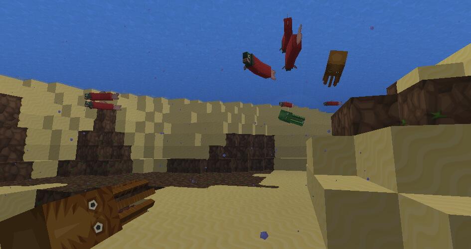 Sphax PureBDcraft underwater screenshot