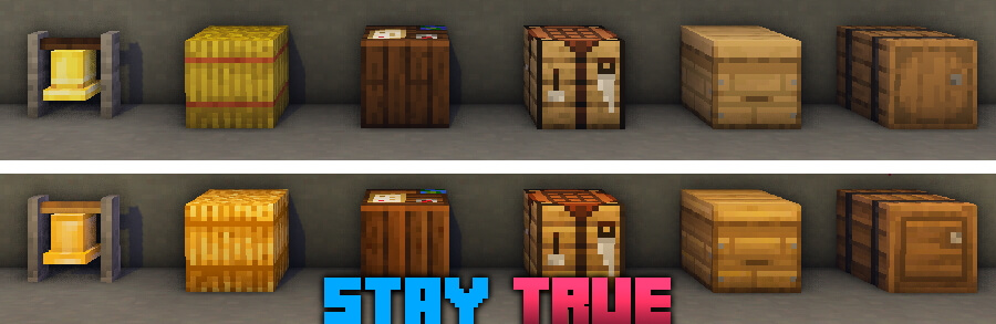 Stay True Texture Pack Download
