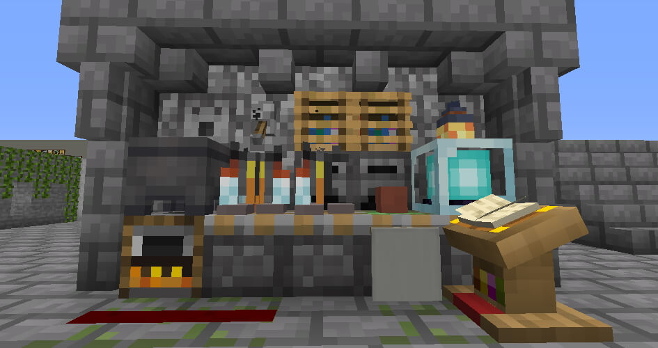 8-bitCraft Texture Pack Screensot