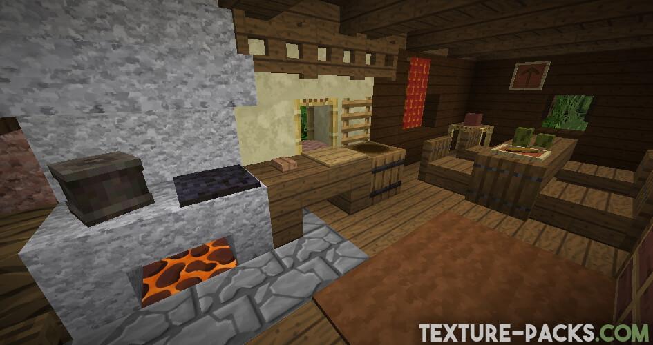 128x Resource Pack in Minecraft