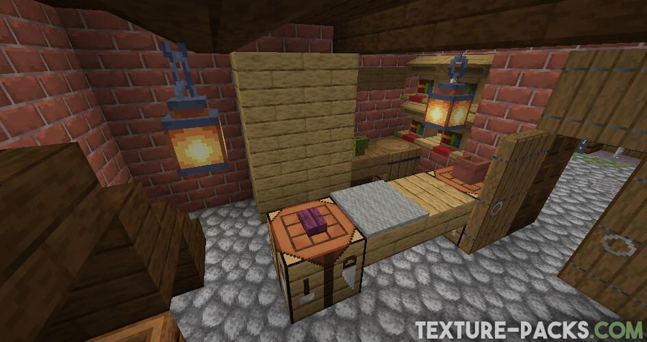 Captura de pantalla del paquete de recursos 32x32