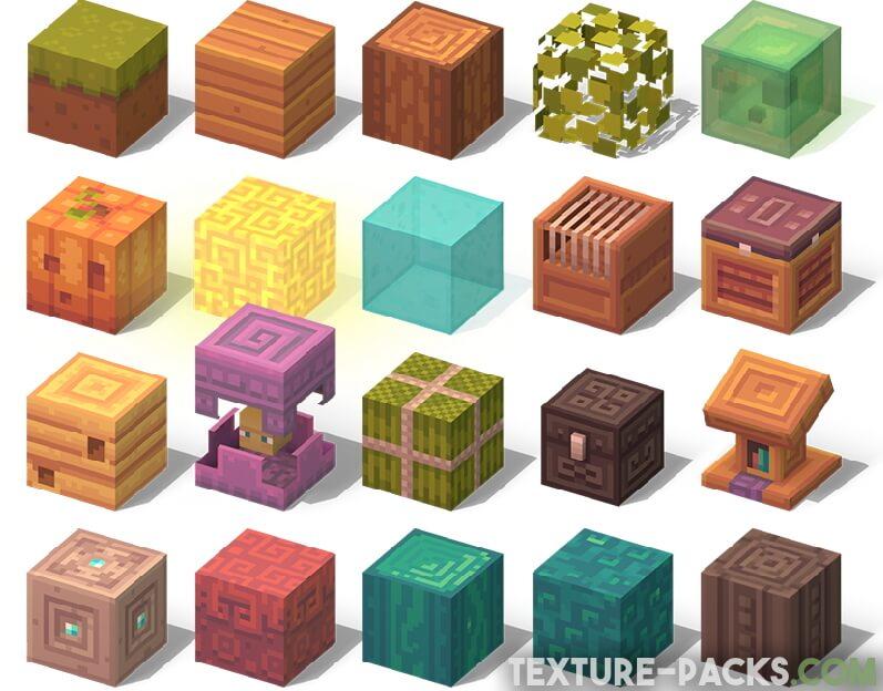 Dandelion X Texture Pack Screenshot