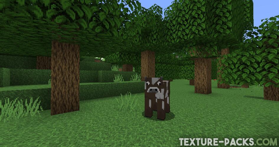 Captura de pantalla de Faithful Texture Pack en Minecraft