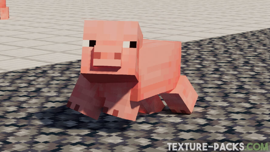 Minecraft Animal in the Fresh Animations Texture Pack