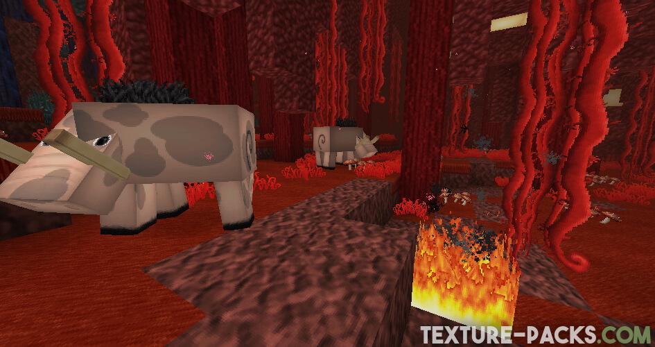 Minecraft Nether Resource Pack