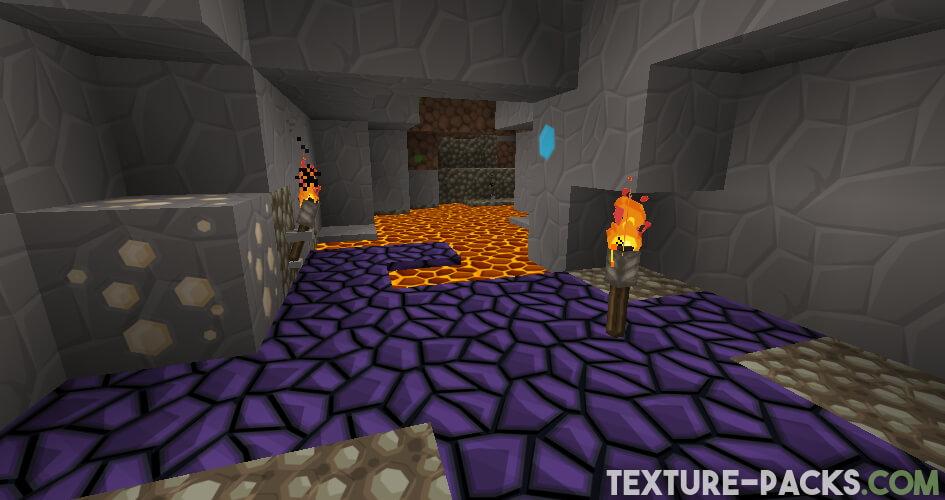 SapixCraft textures in cave