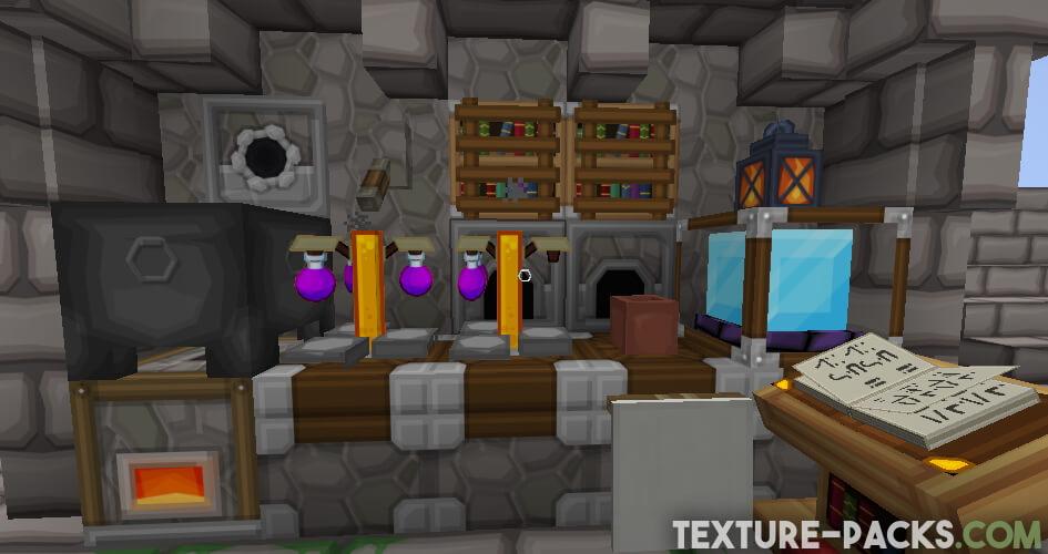Sapixcraft Resource Pack for Minecraft