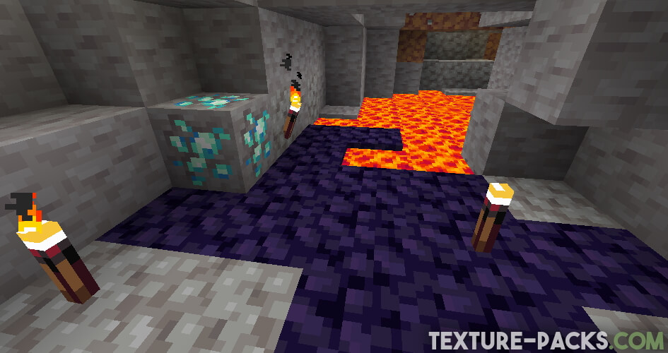 Vividity cave textures screenshot