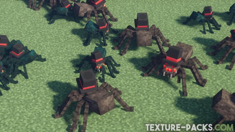 fresh animations texture pack mobs screenshot