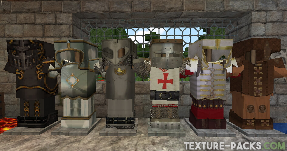 64x64 texture pack armor