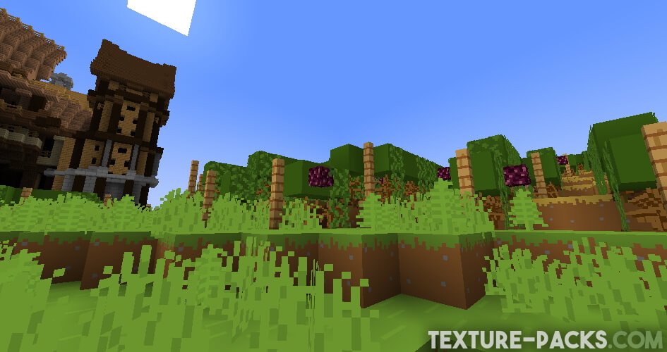 Bare Bones Texture Pack for Minecraft
