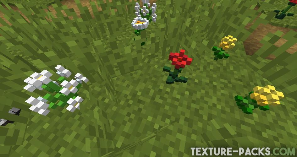 Default 3D Texture Pack for Minecraft