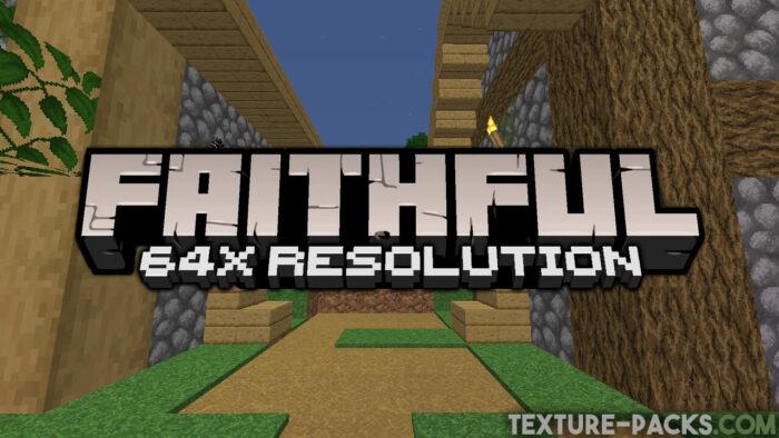 Faithful 64x64 Texture Pack