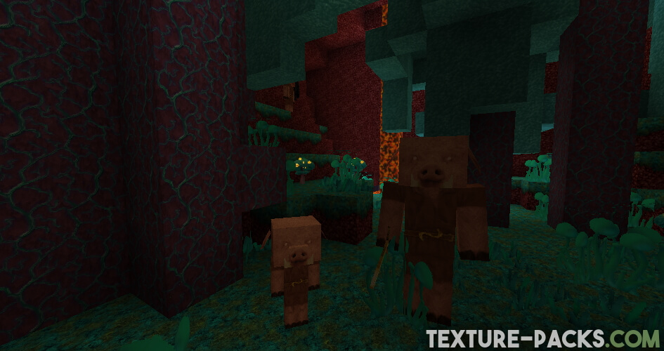 LB Photo Realism Reload Screenshot in Nether