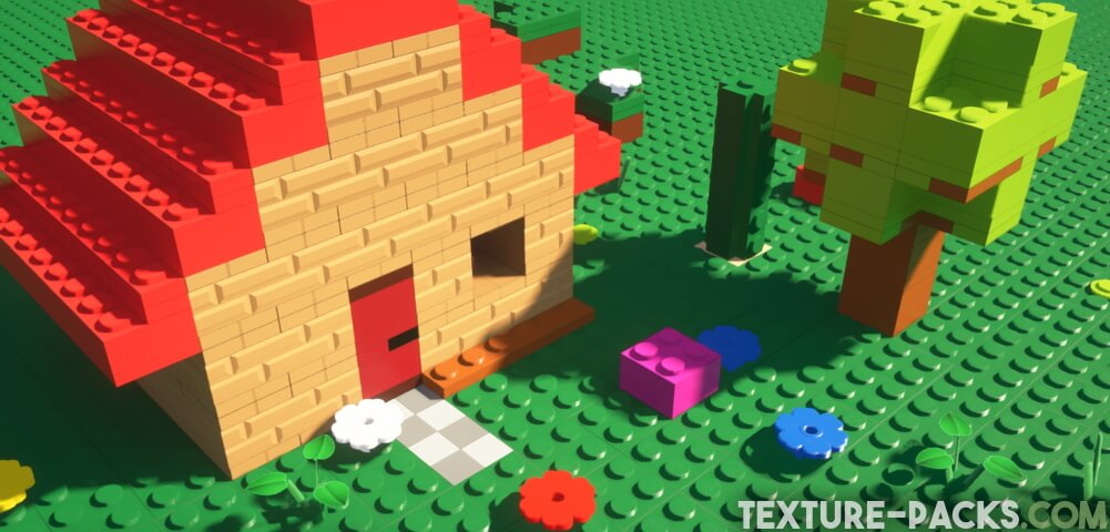 Lego Resource Pack for Minecraft