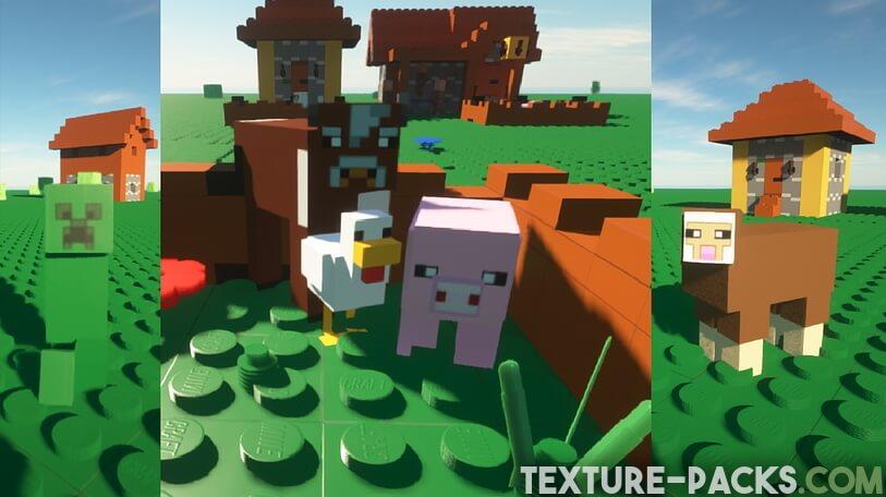 MineBricks Mobs in Minecraft
