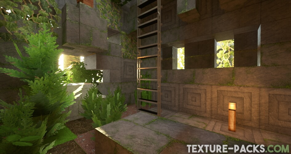 Minecraft environment with Realism Mats
