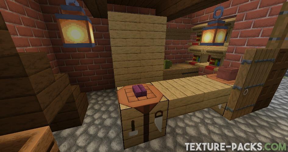 Minecraft textures with 64x resolution