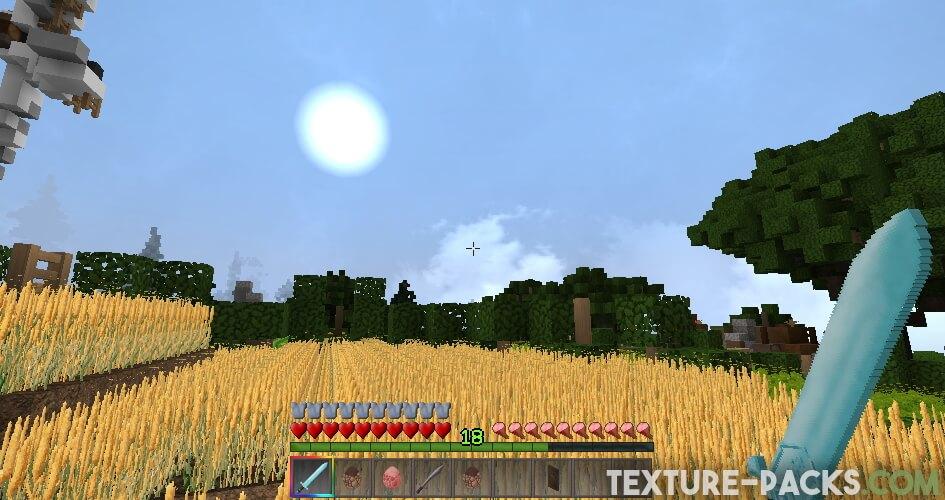 Monsterley textures for Minecraft