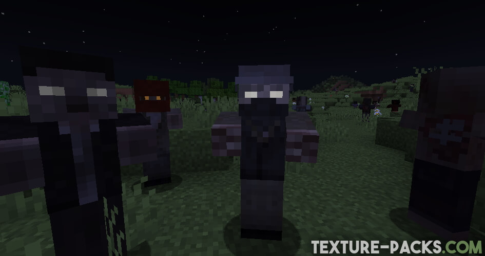 New Minecraft Zombies with Tissou's Zombie Pack