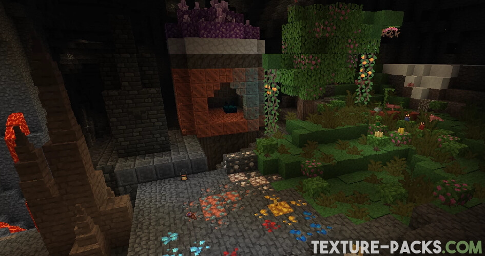 Pixel Perfection Texture Pack for Minecraft Screenshot