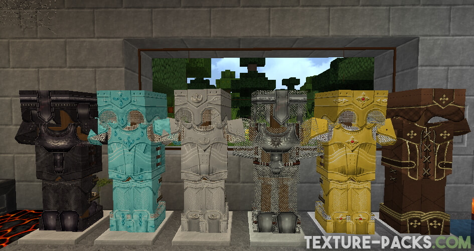 Realistic resource pack for Minecraft