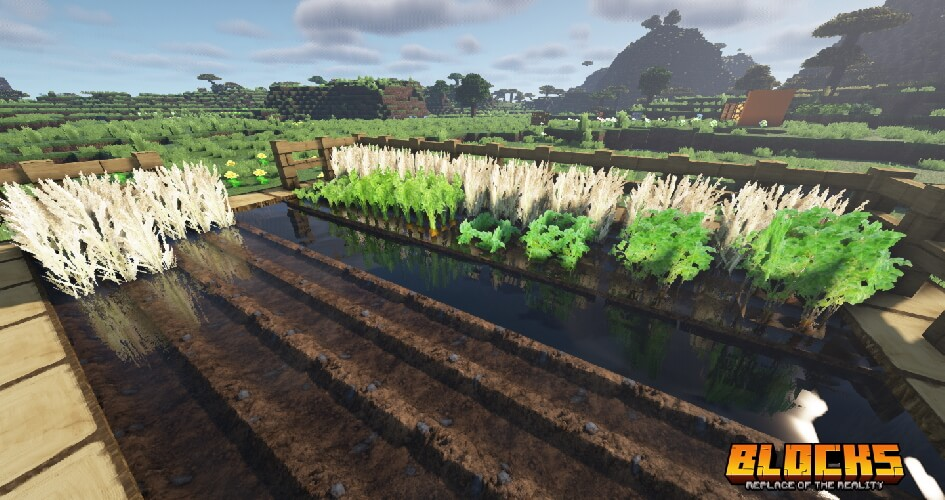 Replace of the Reality Texture Pack