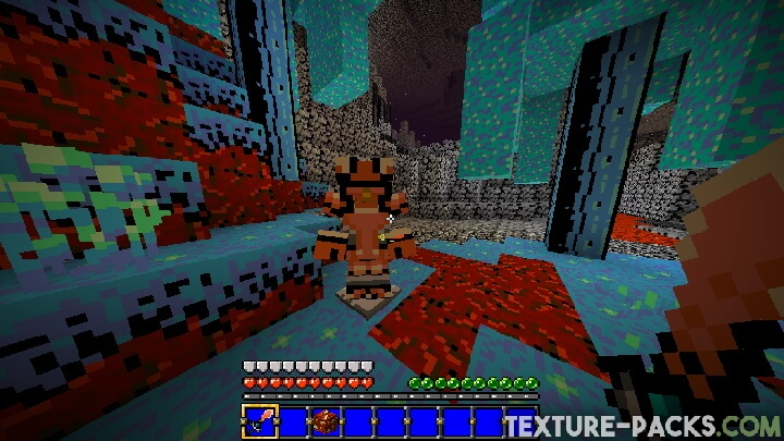 Retro Texture Pack for Minecraft
