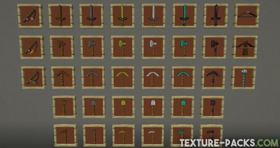 Steven's Traditional Texture Pack Screenshot