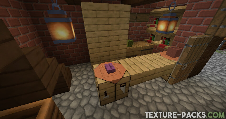 Steven's Traditional Texture Pack for Minecraft